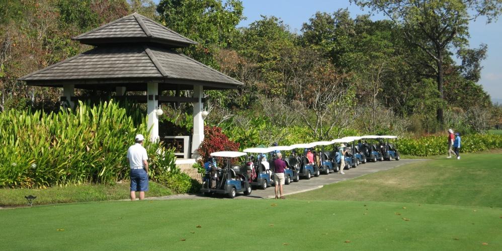 Golfreis Thailand 2016